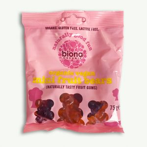 Biona Organic Mini Fruit Bears