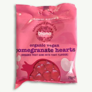 Biona Organic Vegan Pomegranate Hearts