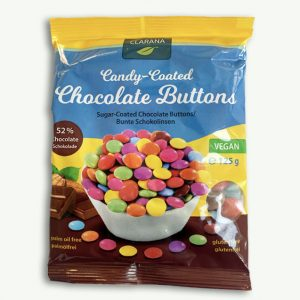 Clarana Chocolate Buttons