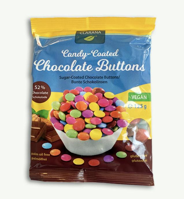 Clarana Chocolate Buttons