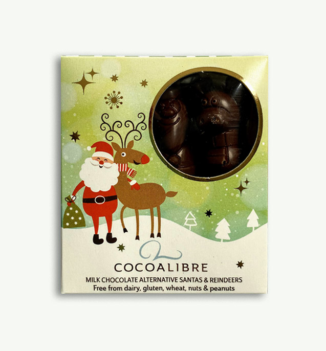 Cocoa Libre Santas and Reindeers