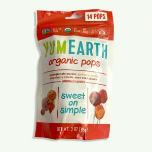 Yum Earth Organic Lollies