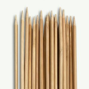 Netvic 6 x Bamboo Sticks For Marshmallows