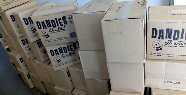 Dandies Vegan Marshmallows for Wholesale