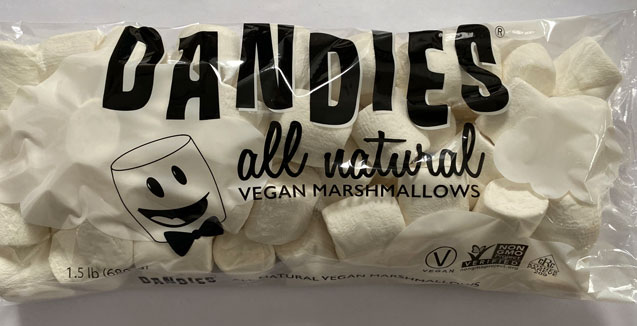 Dandies Wholesale Catering Bags Vegan Marshmallows