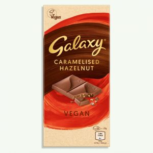 Galaxy Vegan Caramelised Hazelnut Chocolate Bar