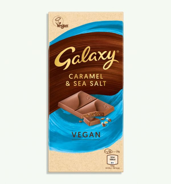 Galaxy Vegan Caramel & Sea Salt Bar
