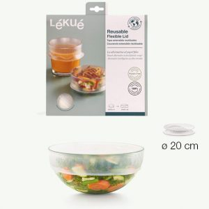 Lékué reusable & flexible lid