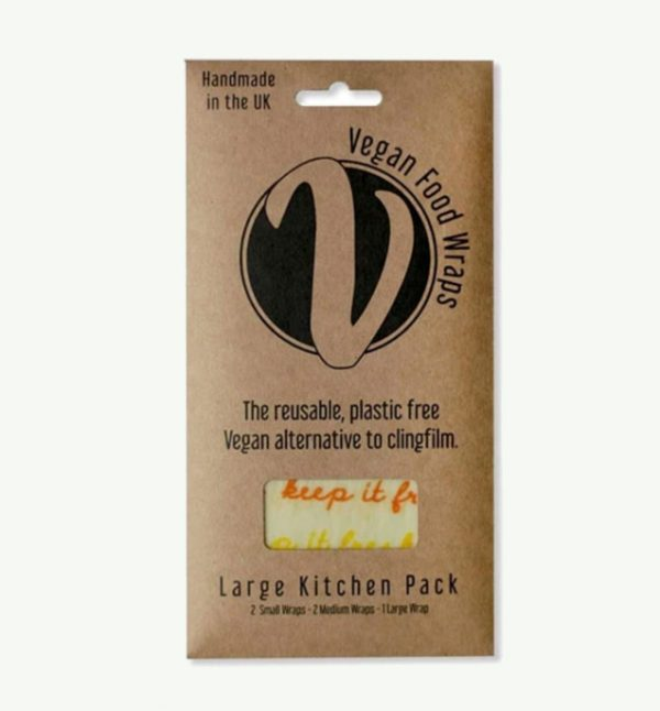 Large pack Vegan Food Wraps