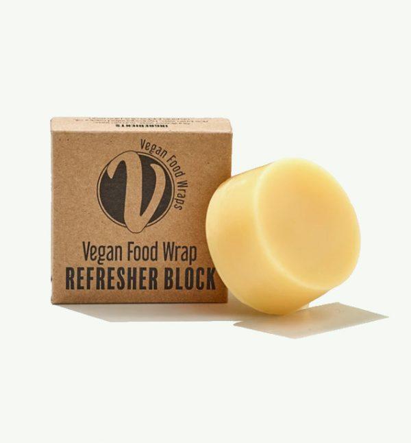 The Vegan Food Company, vegan food wrap refresher block
