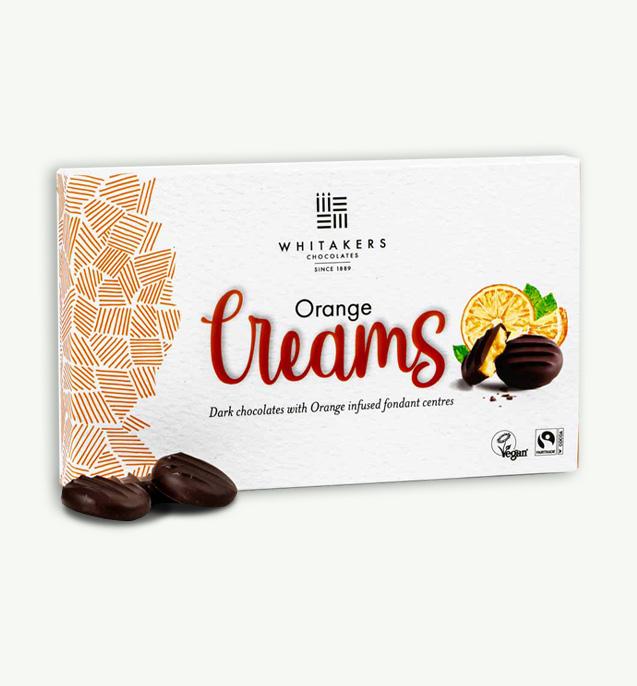 Whitakers Creams Orange