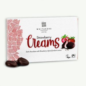 Whitakers Vegan Strawberry Creams