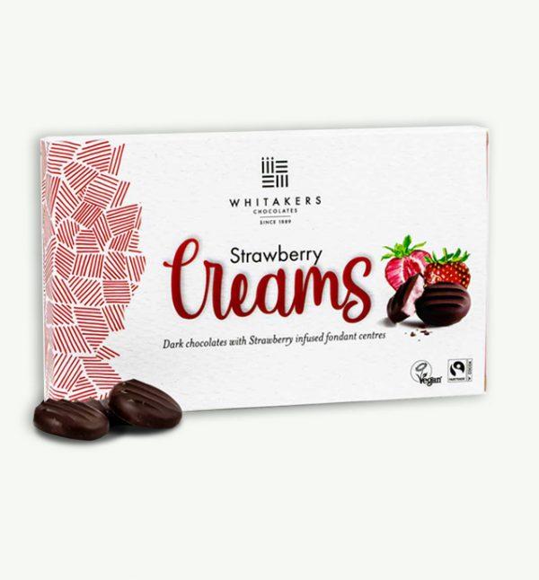 Whitakers Vegan Strawberry Creams