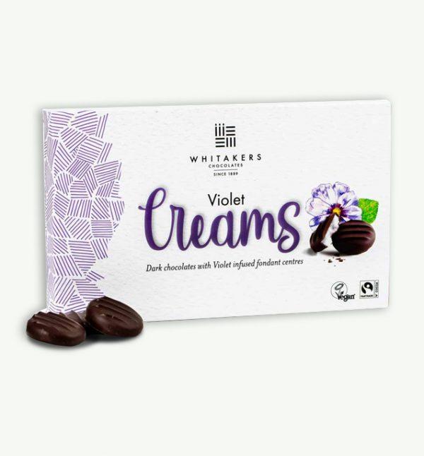 Whitakers Vegan Violet Creams