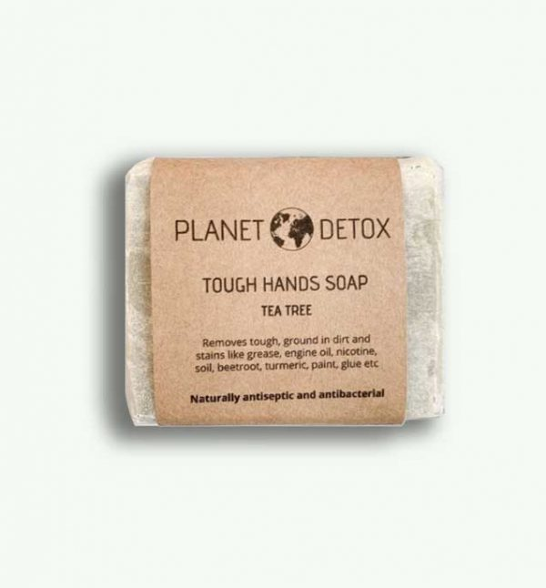 Planet Detox Tough Hands Tea Tree Soap