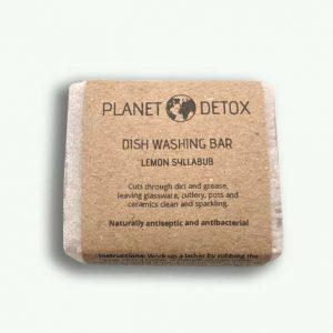 Planet Detox Lemon Dish Washing Bar