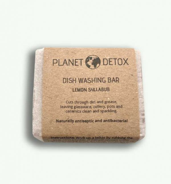 Planet Detox Lemon Dish Washing Bar