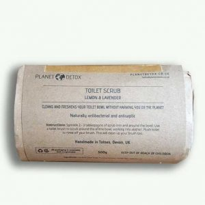Planet Detox Toilet Scrub Lemon and Lavender