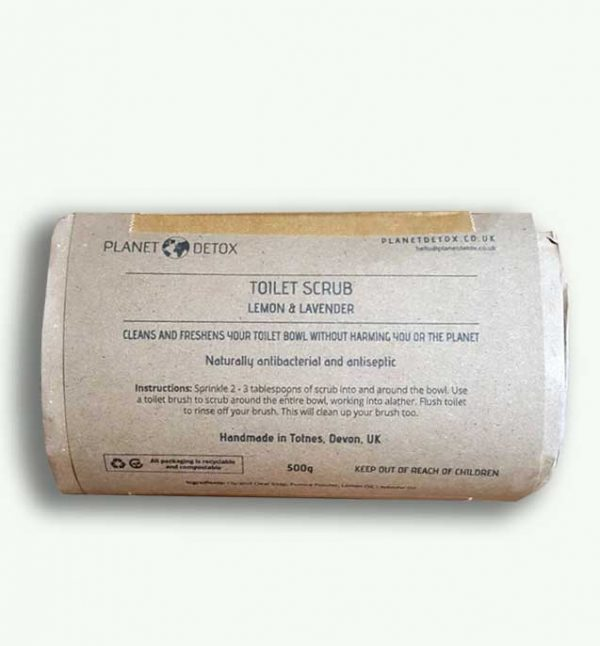 Planet Detox Toilet Scrub Lemon and Lavender