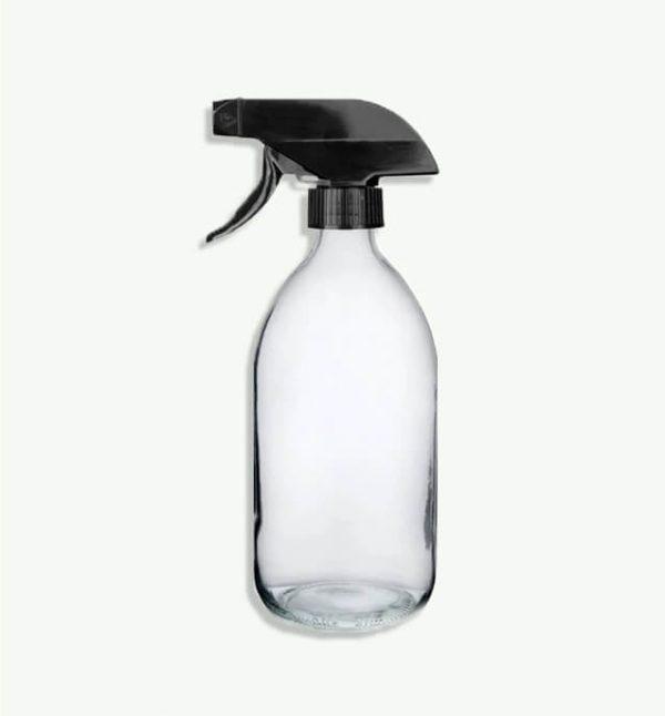 500ml clear glass bottle