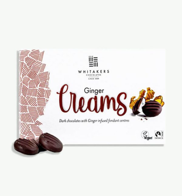 Whitakers Ginger Creams