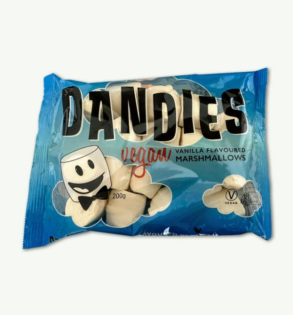 Dandies Vanilla Flavour Vegan Marshmallows