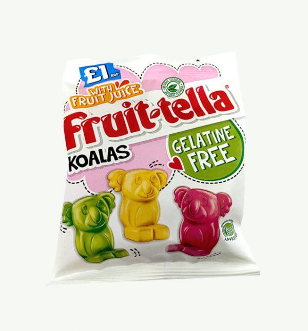 Fruit-Tella Koalas Gelatine Free Vegan Sweets
