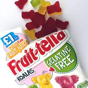 Fruit-Tella Koalas Gelatine Free Sweets