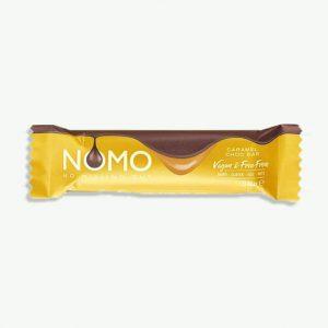 NOMO (No Missing Out) Vegan Caramel Filled Chocolate Bar