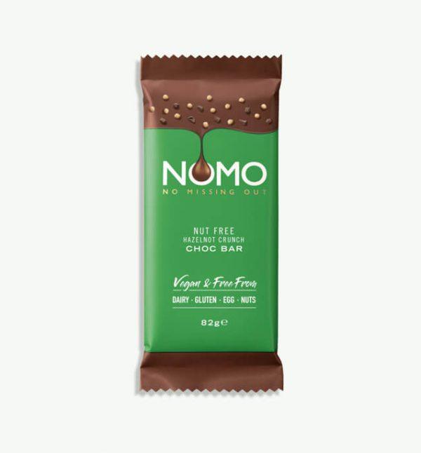NOMO Hazelnot Crunch Choc Bar