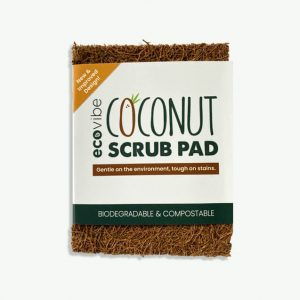 Eco Vibe Non-Scratch Coconut Fibre Scrub Pad