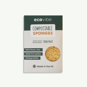Compostable Sponges, 2 Pack