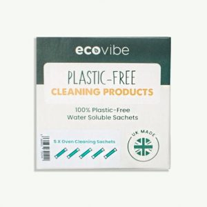 Eco Vibe Plastic Free Soluble Cleaning Sachets, Antibacterial