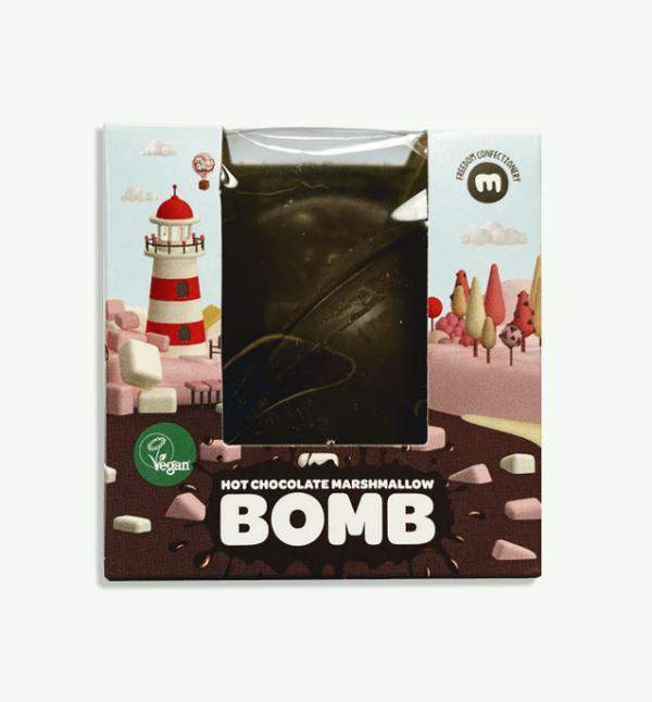 Freedom Mallows Hot Chocolate Bomb