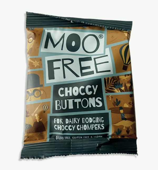 Moo-Free Choccy Buttons
