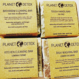 Planet Detox products at Goodness Goodies