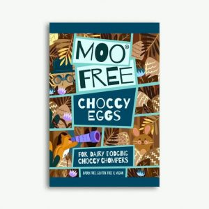 Moo Free Choccy Eggs