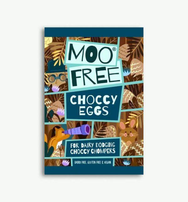 Moo Free Choccy Eggs