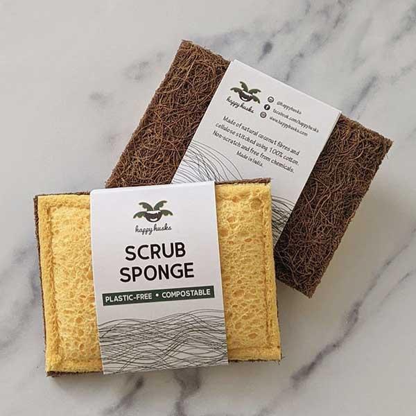 Happy Husks Scrub Sponge