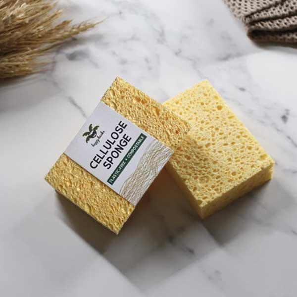 Happy Husks Cellulose Sponge